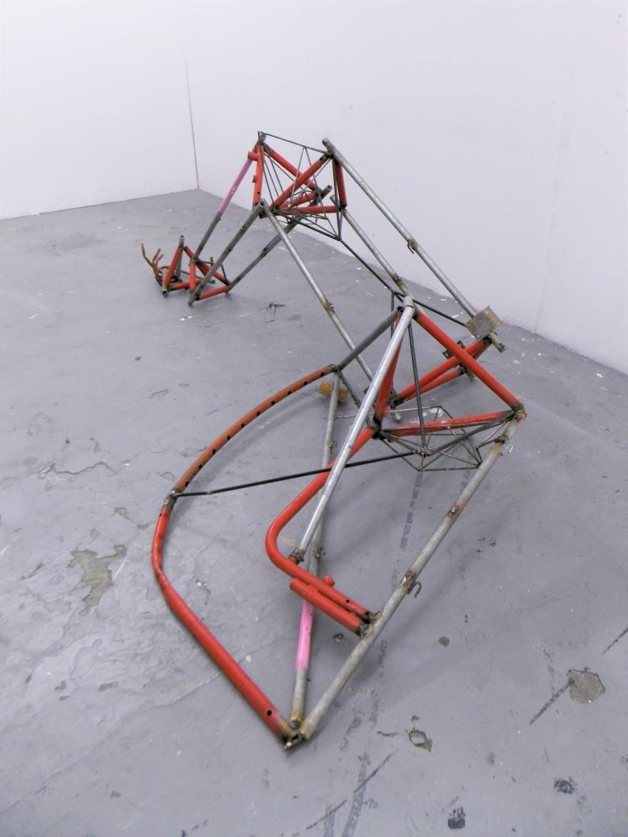 'Untitled (hammered)' 2018 Marylyn Molisso