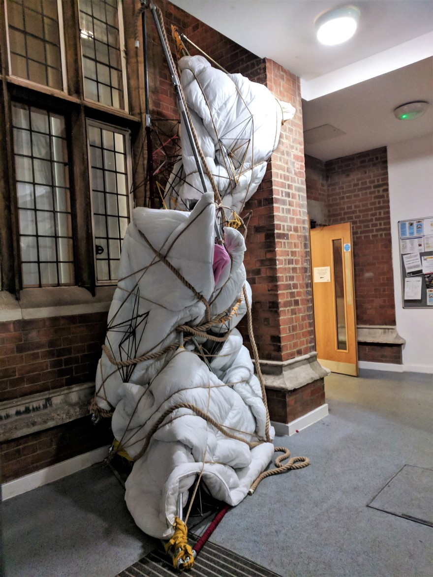 Installation at 'Stages of Life' Harrow Arts Centre 2019